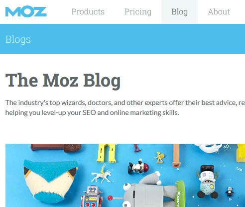 Links vom Moz Blog